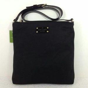 Kate Spade Black Nylon Crossbody Bag